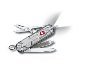 Victorinox 0.6226.T7 Signature Lite Silvertech vreckový nôž