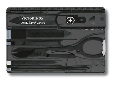 Victorinox 0.7133.T3 SwissCard Classic Onyx