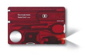 Victorinox 0.7300.T SwissCard Lite Ruby