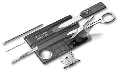 Victorinox 0.7333.T3 SwissCard Lite Onyx