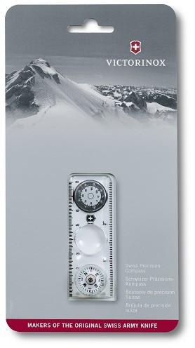 Victorinox 4.0568.44 kompas s pravítkom, lupou a teplomerom