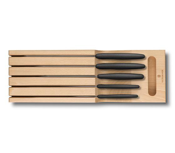 Victorinox súprava nožov Swiss Classic - drevený stojan do zásuvky 2