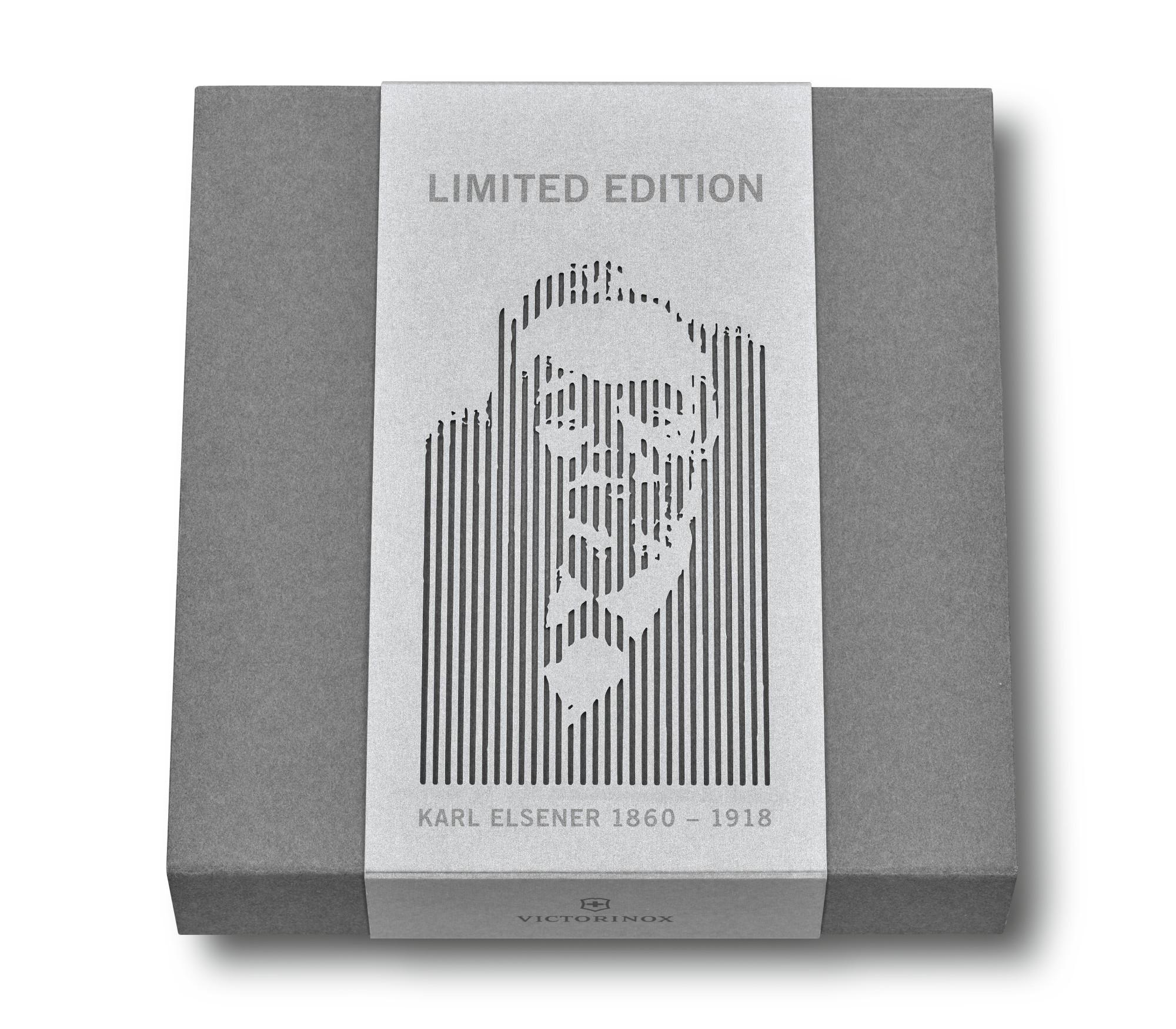Victorinox Karl Elsener limitovana edicia krabica