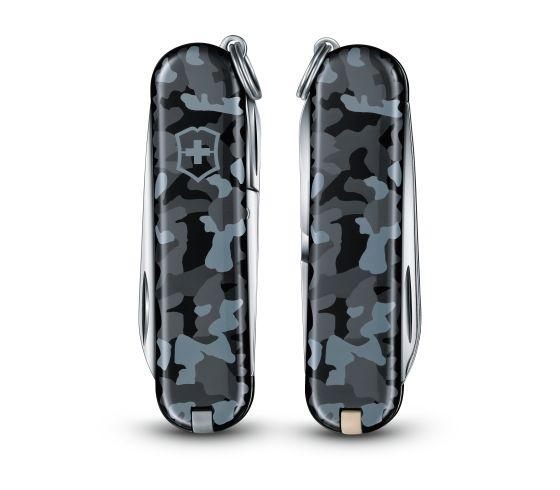 Victorinox 0.6223.942 Classic, NAVI camouflage vreckový nôž 1