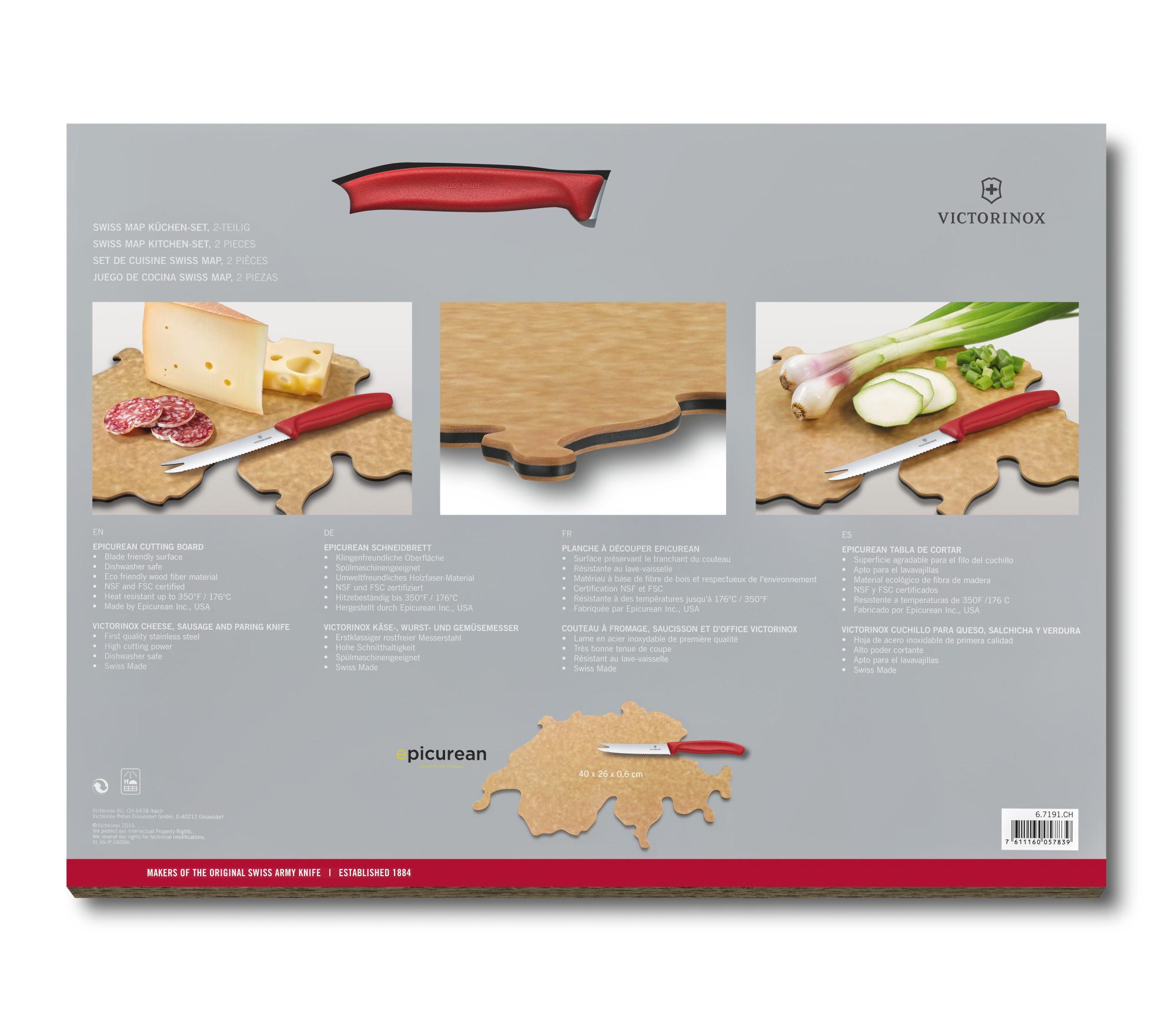 Švajčiarska kuchynská súprava krabica
