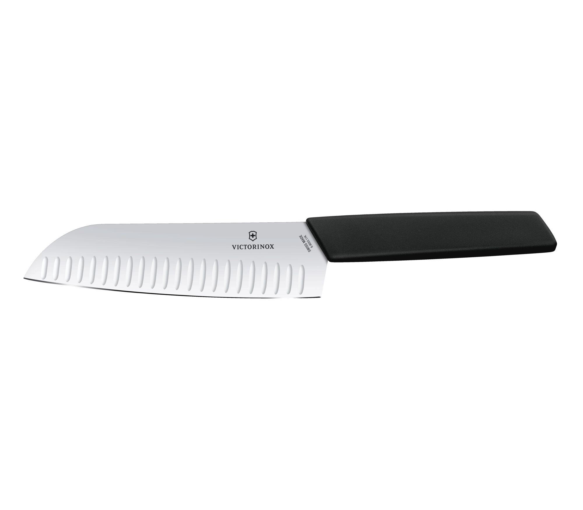 Victorinox Swiss Modern Santoku nôž 17 cm - čierna